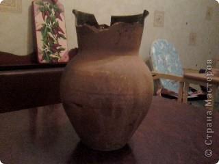 вот такая ваза у меня получилось, правда ещё без лака фото 3