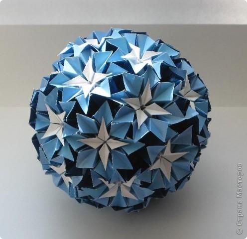 Всем привет! Название этой сшивной кусудамы не знаю.  Делала по МК Mary Bond: http://stranamasterov.ru/node/21764?tid=451%2C850 фото 1