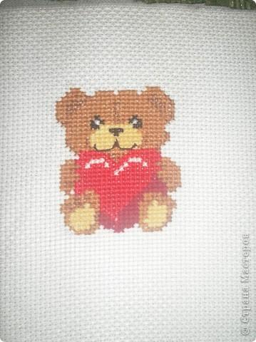 Львенок-моя вторая вышивка фото 2