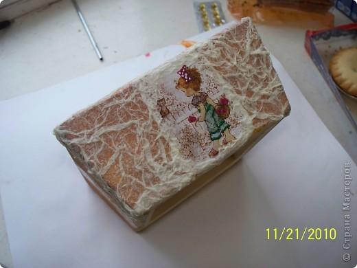 Шкатулка для барышни))) (крышка) фото 3