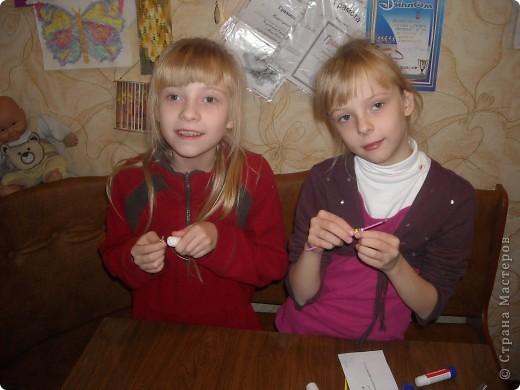 Как мы делали бусики и браслетики фото 8