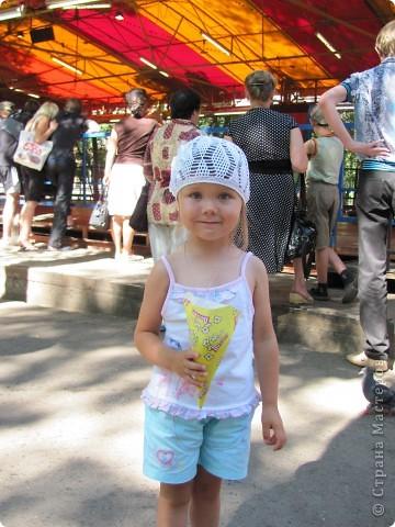 Это моя доченька Ярослава в очередной шапочке)))))  фото 1