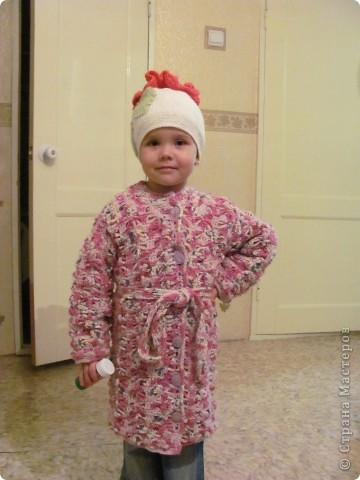 Это моя доченька Ярослава в очередной шапочке)))))  фото 3