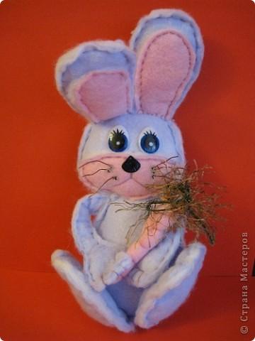 """""""Шоколадный"""" заяц. Таких же простеньких зайчиков много встречала на сайте, у меня получился вот такой из бумажной салфетки. фото 3"""