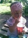 Это моя доченька Ярослава в очередной шапочке)))))  фото 7