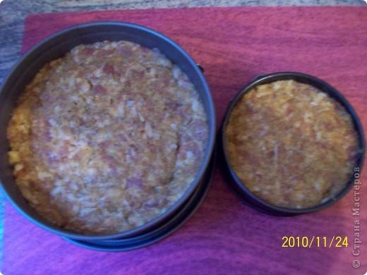 Торт мясной. фото 3