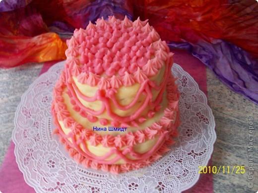 Торт мясной. фото 1