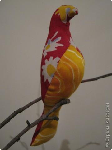 Искала в интернете текстильные игрушки, и увидела стаю птиц! Теперь у меня тоже живут эти прекрасные птицы! фото 4
