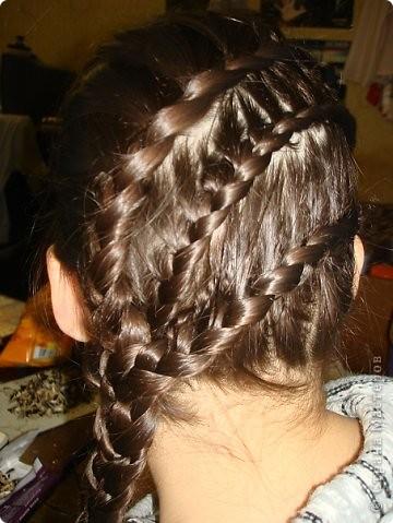Плетем косы вместе))) фото 17