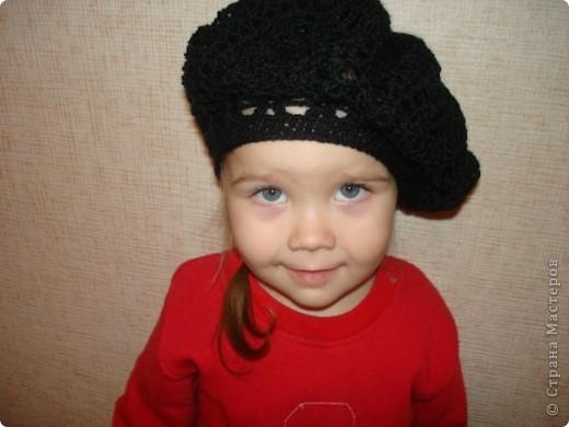 Это моя доченька Ярослава в очередной шапочке)))))  фото 30