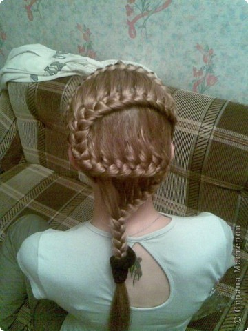 Плетем косы вместе))) фото 2