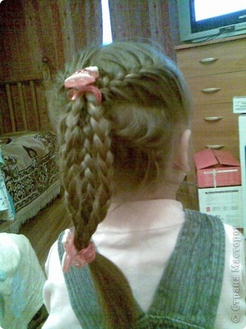 Плетем косы вместе))) фото 10