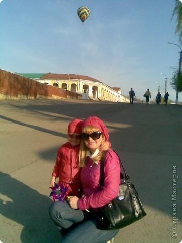 Это моя доченька Ярослава в очередной шапочке)))))  фото 28