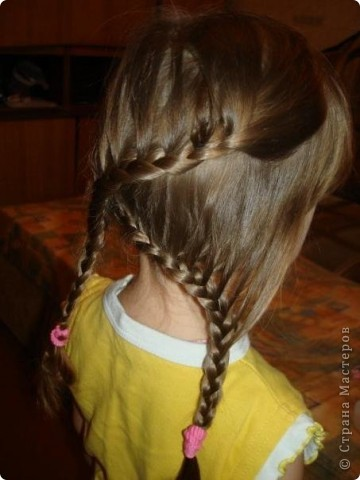 Плетем косы вместе))) фото 11