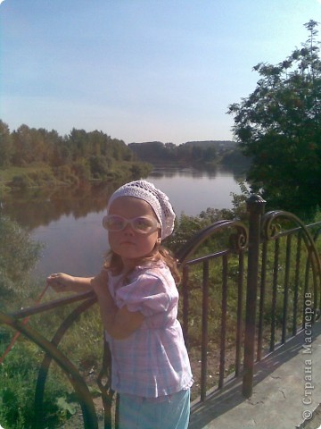 Это моя доченька Ярослава в очередной шапочке)))))  фото 5
