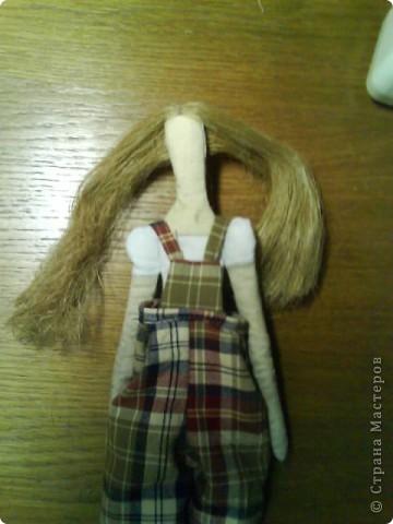 Вот она, моя первая тильда-садовница))) фото 9