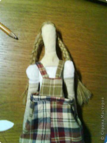 Вот она, моя первая тильда-садовница))) фото 10