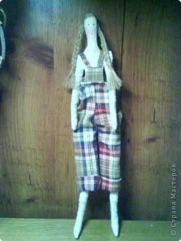 Вот она, моя первая тильда-садовница))) фото 14