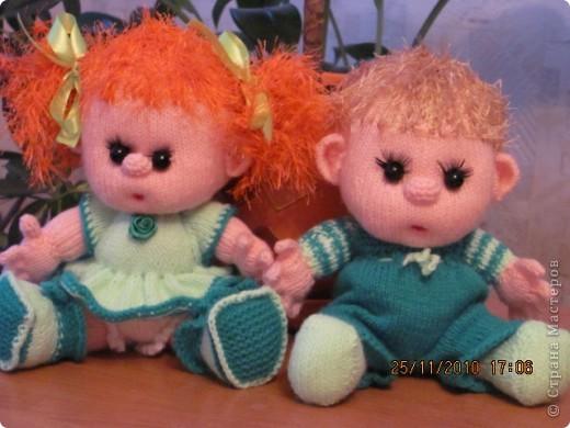 амигуруми куклы спицами