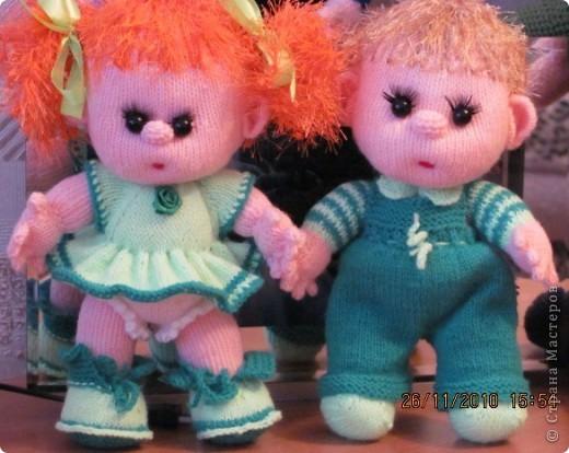Куклы День рождения Вязание