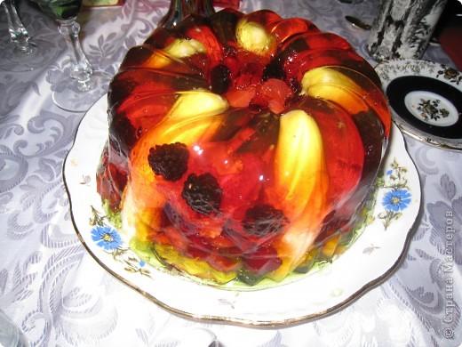 Торт из желе