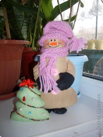 И еще снеговик!