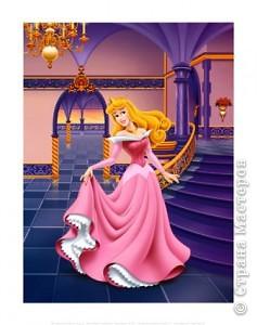 Наряд спящей красавицы для Барби фото 2