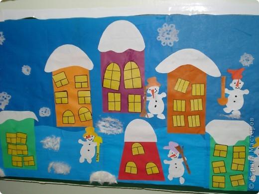 Зимний город фото 2