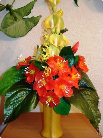 Букет цветов фото 1