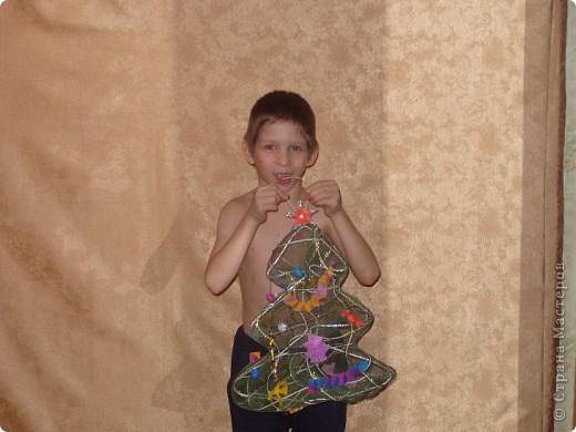 Эту красавицу мы делали на конкурс Новогодней игрушки для уличной ёлки. Позже было жаль расставаться... фото 1