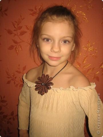 Цветок шоколада фото 1