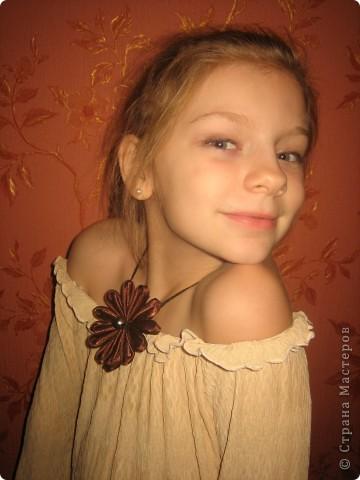 Цветок шоколада фото 2