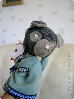 Маша и медведь. Куклы на руку. фото 4