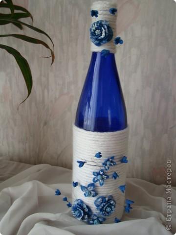 Очень нравится сочетание синий-белый. фото 1