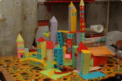Бумажый город фото 3