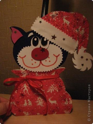 Большое спасибо за МК этой чудесной новогодней открытки! http://stranamasterov.ru/node/115412 фото 6