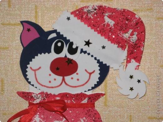 Большое спасибо за МК этой чудесной новогодней открытки! http://stranamasterov.ru/node/115412 фото 1