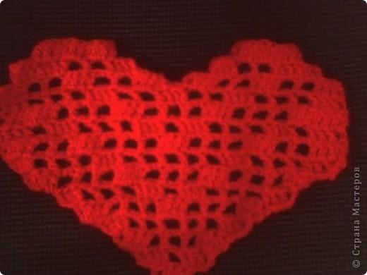Филейное вязание. Работа моей дочки