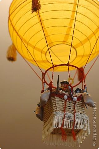 Как корзину для воздушного шара своими руками