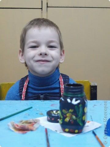 """Первые """"шаги"""" Щуваевой Оли, 5,5 лет в росписи фото 3"""