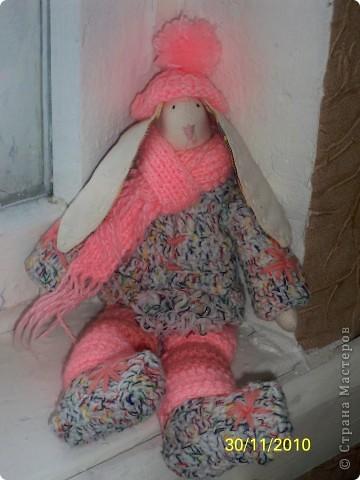 это моя первая работа с тильдой.шить понравилось,правда одежда получилась не такой как хотела.