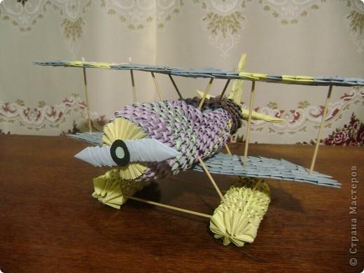 Вот такой самолет получился фото 1