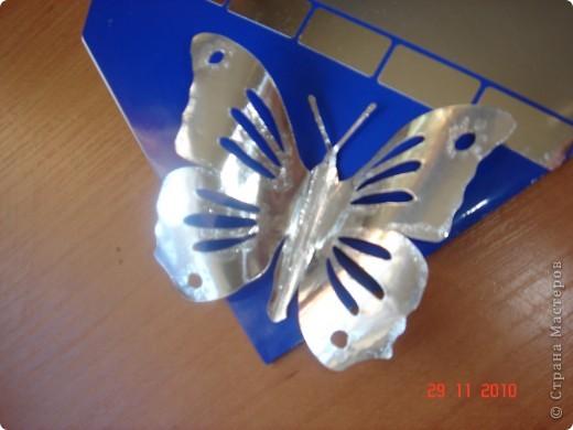 Открытка из глянцевой бумаги. По краям нанесен лак с блестками. фото 4