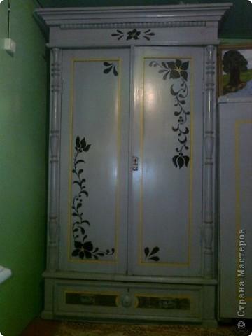 Декор старого шкафа фото