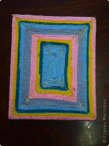 Предлагаю вашему вниманию вариант оформления школьной тетрадки подручным материалом.  фото 1