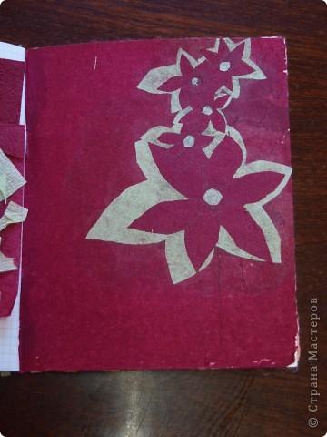 Предлагаю вашему вниманию вариант оформления школьной тетрадки подручным материалом.  фото 3
