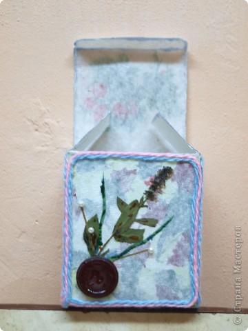 Ксения занимается первый год в студии декоративного творчества, это вторая её работа. фото 2