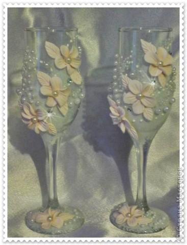 Розовые бокальчики  фото 1