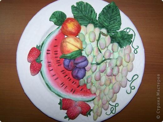 Фруктовая тарелка фото 2