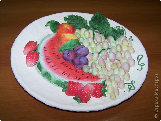Фруктовая тарелка фото 1